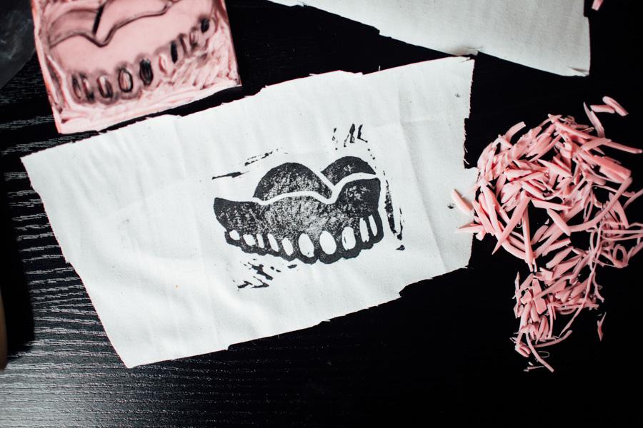 denture stamp