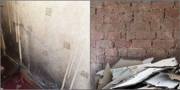is damp proofing messy