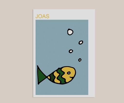 vis geboortekaart