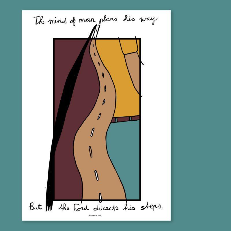 Proverbs 16: 9 in illustration