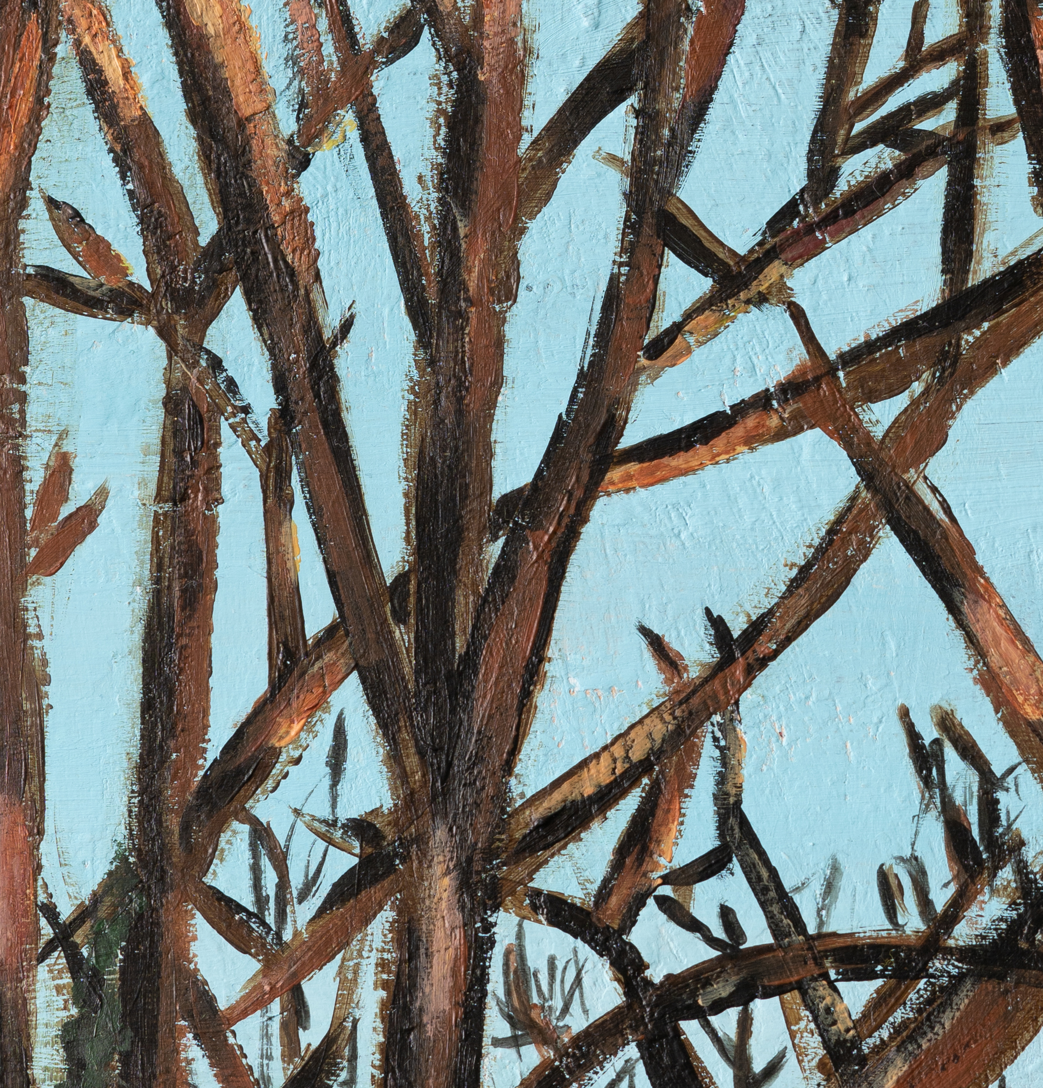 Painting trees and Isaiah 60v1 image download