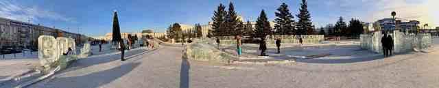 Ulan Ude main square