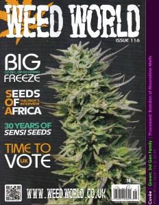 Weed World, Issue 116 - Zkittlez