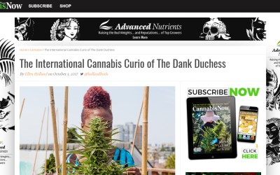 Cannabis Now Article Thrills Me for Days