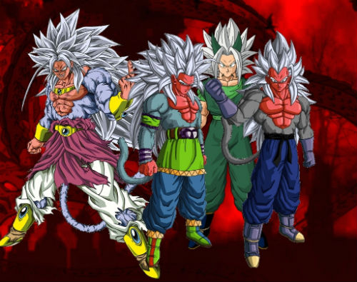 Dragon Ball Z Goku And Vegeta Fusion Super Saiyan 5 Hd Wallpaper Gallery