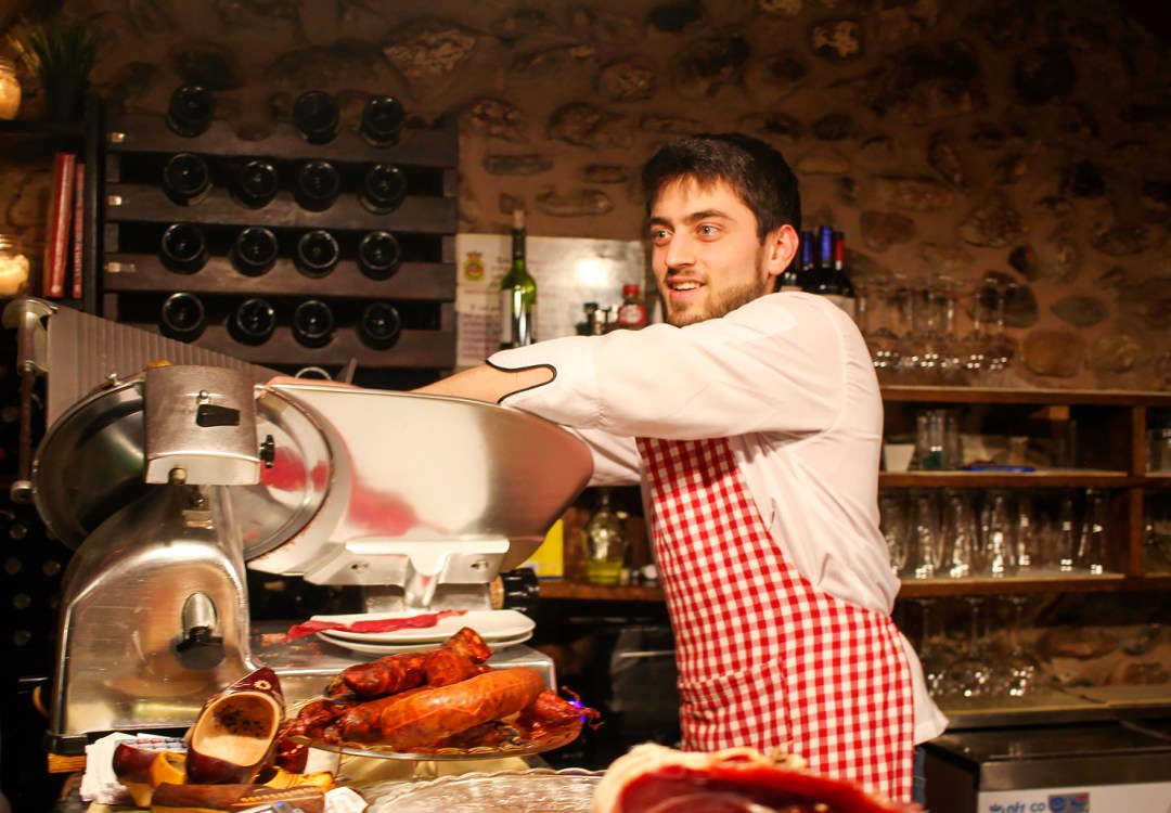 jamon iberico spain