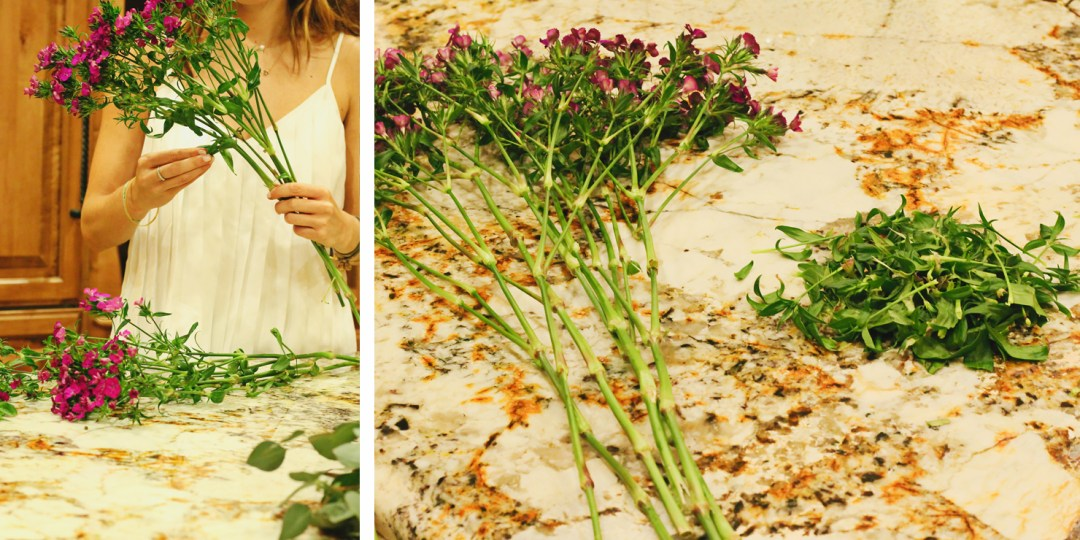 flower processing