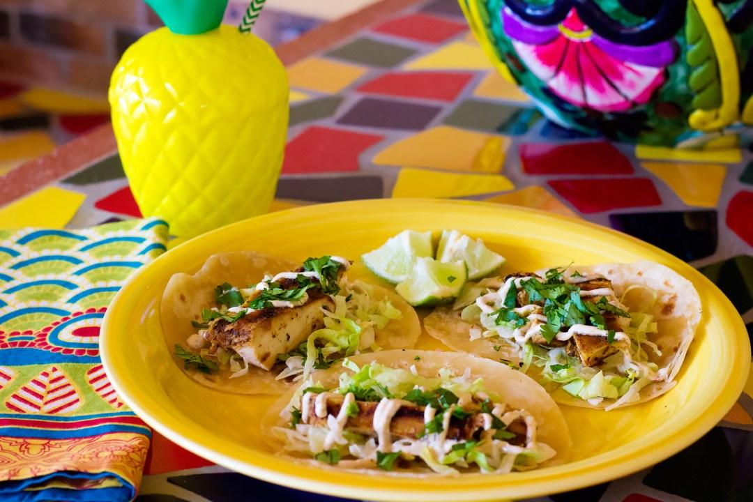 jerk chicken taco
