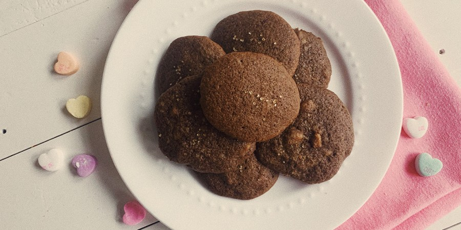 Vintage Cookbook Recipe 1940s Chocolate Cookies The Dapper Dahlia