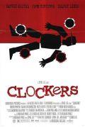 """poster del film Clockers ispirato alla locandina di saul bass per il fim """"anatomia di un omicidio"""""""