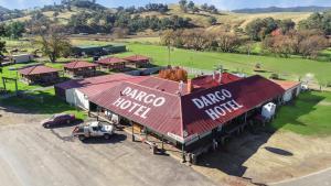 Dargo Hotel - Aerial Shot