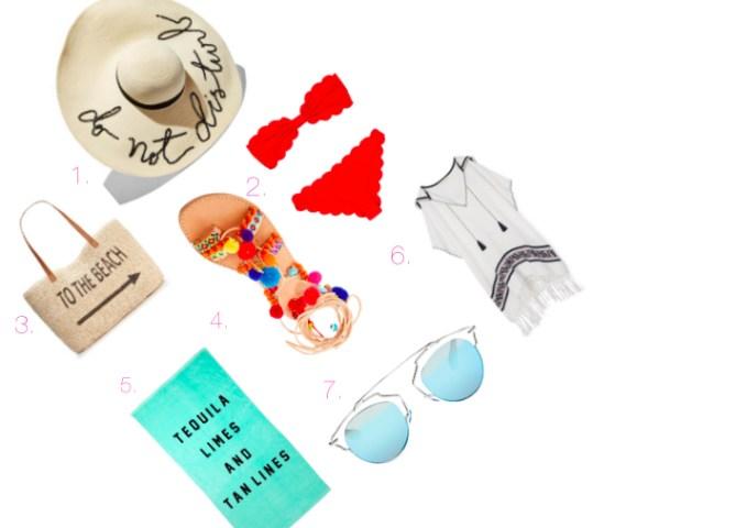 Beach Essentials Cover