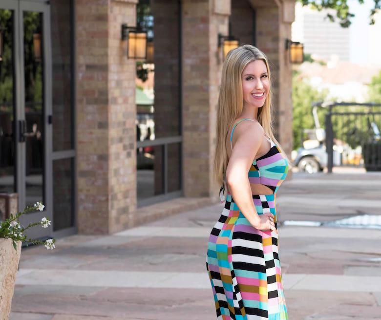 Bold Maxi Dress