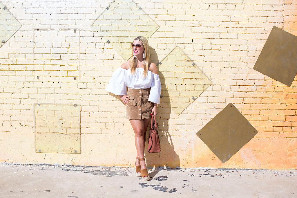 Corduroy Skirt - Fashion Blog - Dallas Texas