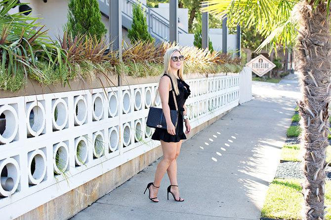 Ruffles On A Romper- Dallas Fashion Blogger