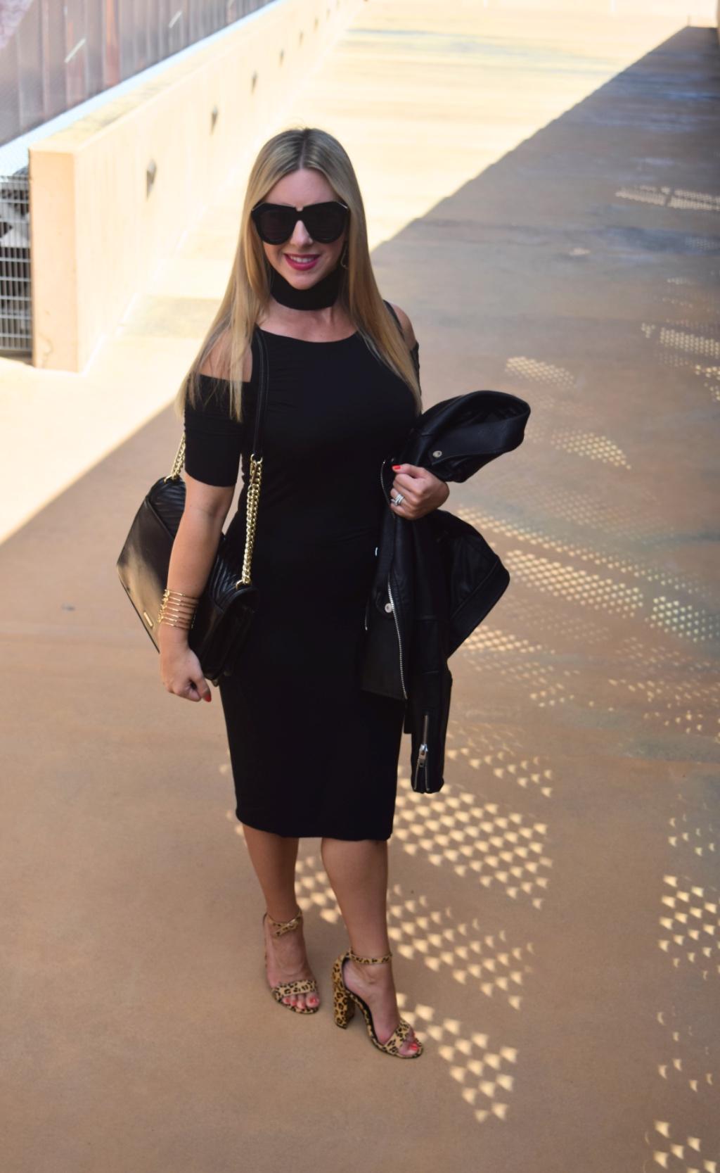 Cold Shoulder Dress | Dallas Fashion Blog by Nicole Kirk