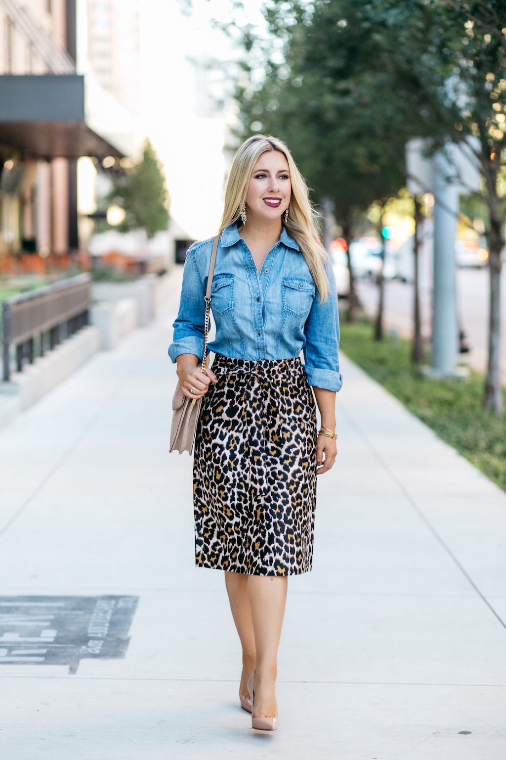 Fall Fashion | Leopard Print | Nicole Kirk
