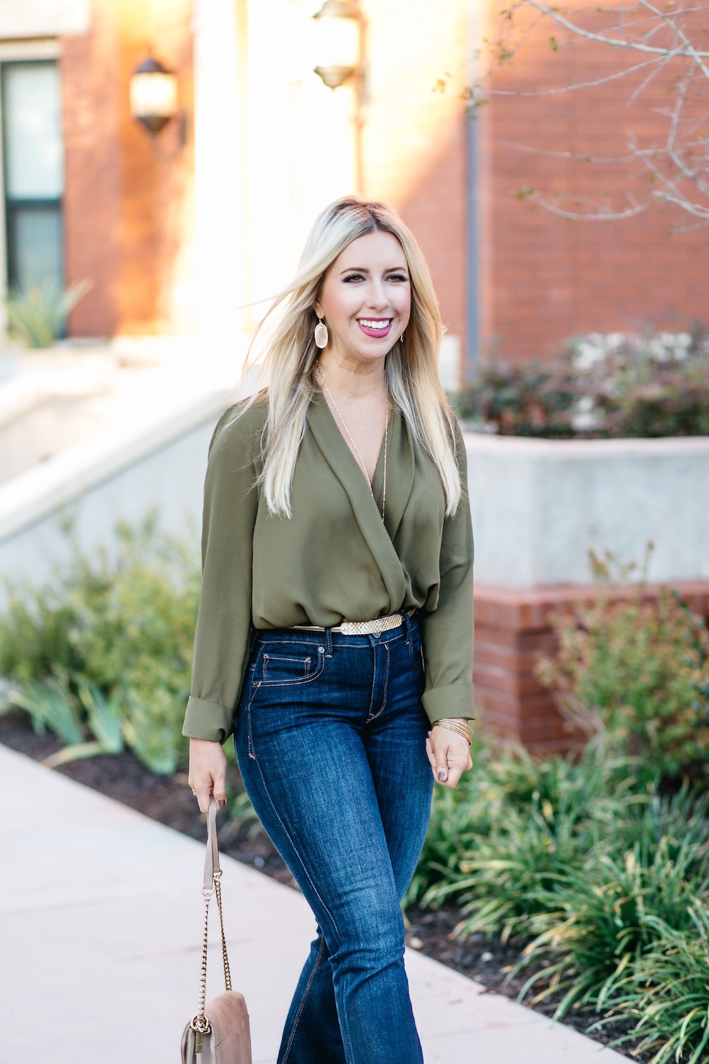 Olive Green Bodysuit | Dallas Fashion