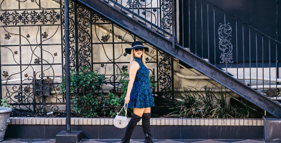 Boho Chic + OTK's | Nicole Kirk