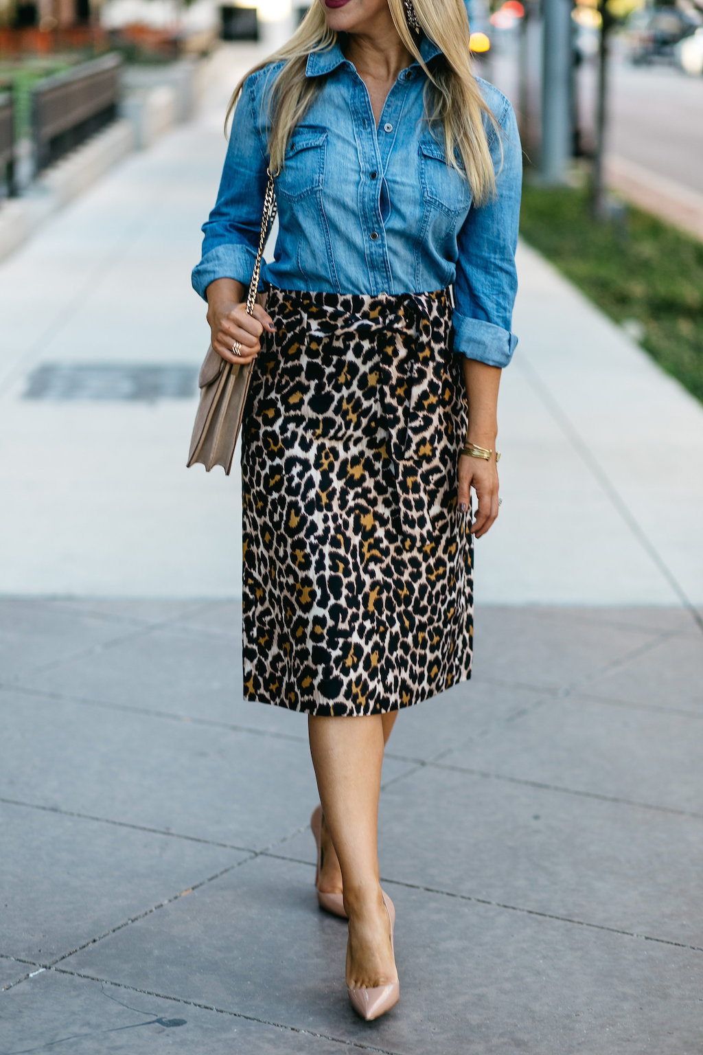 The Darling Petite Diva | Leopard Skirt