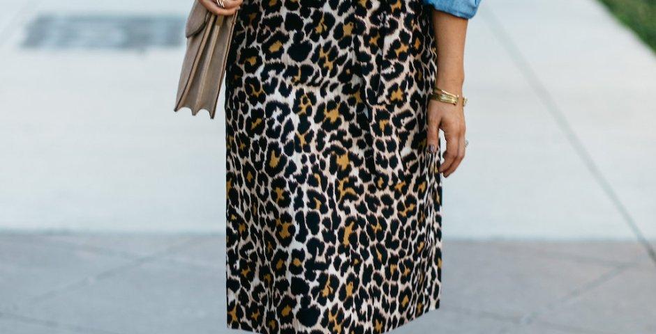 The Darling Petite Diva | Leopard Skirt