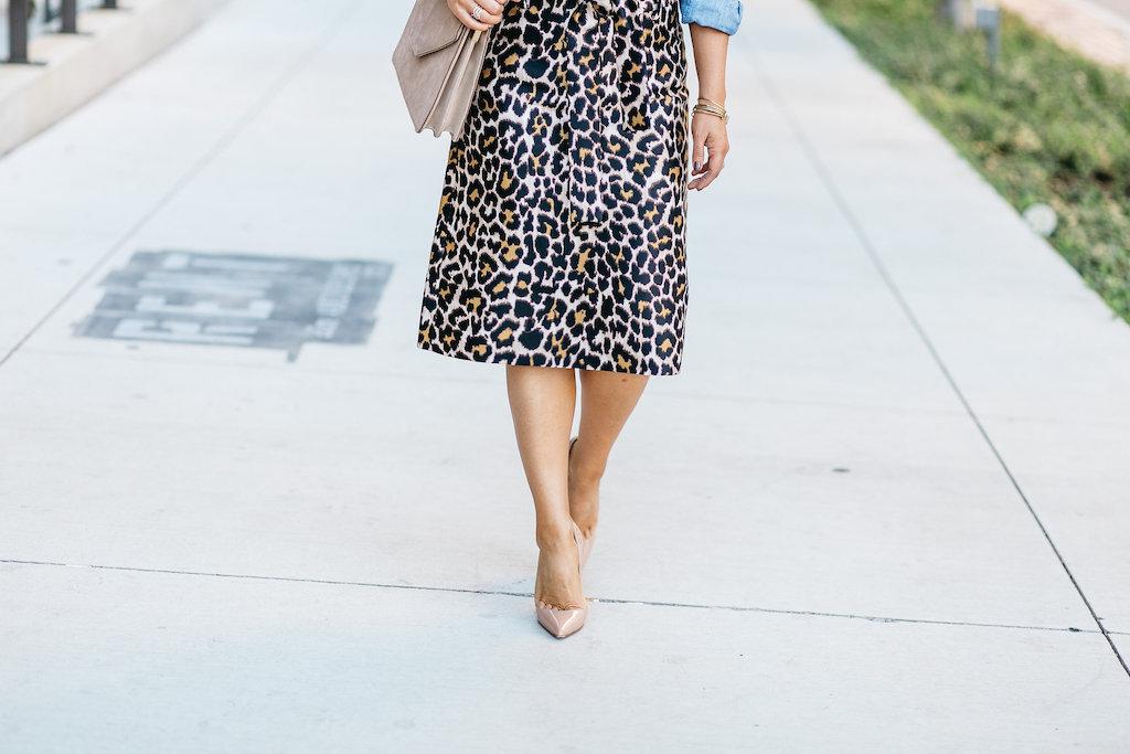 J. Crew Skirt | Leopard Print