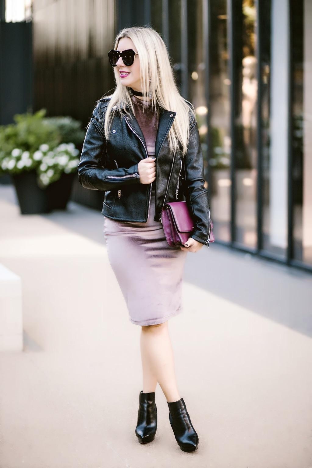 Leather + Velvet   Dallas Blogger