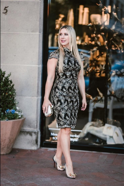 Holiday Dress | Dallas Blog | The Darling Petite Diva