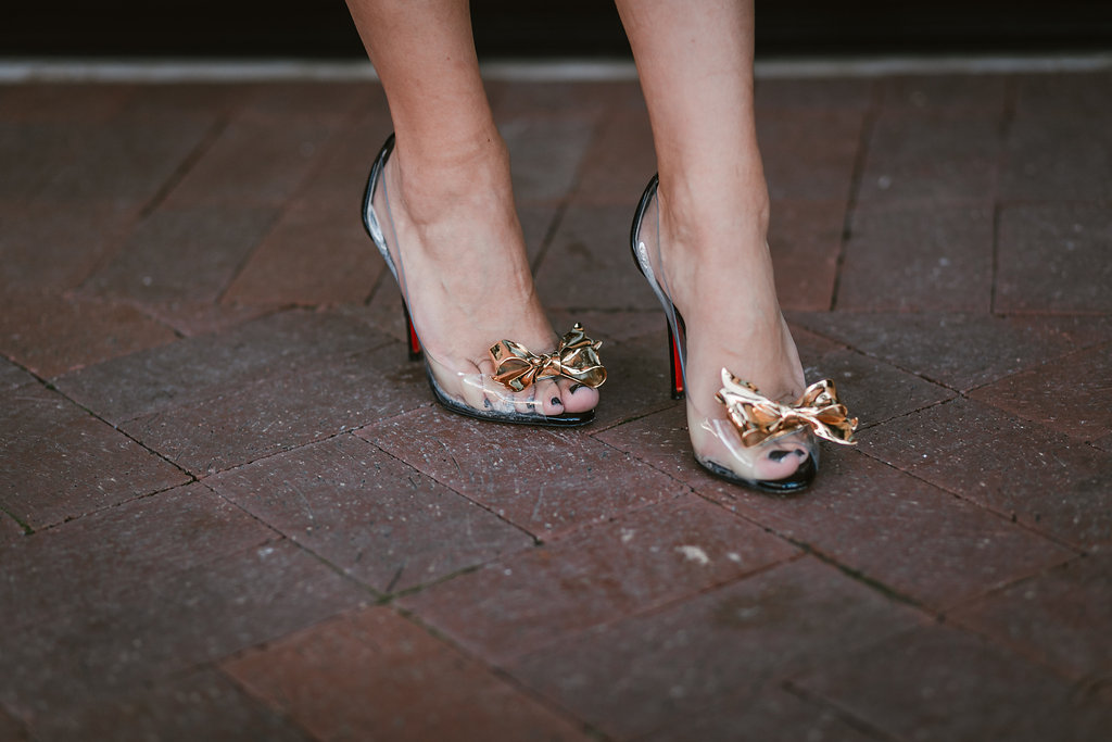 Bow Tie Heels | The Darling Petite Diva