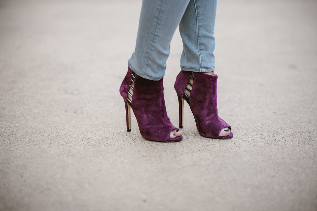 Burgundy Booties | Dallas Fashion Blog