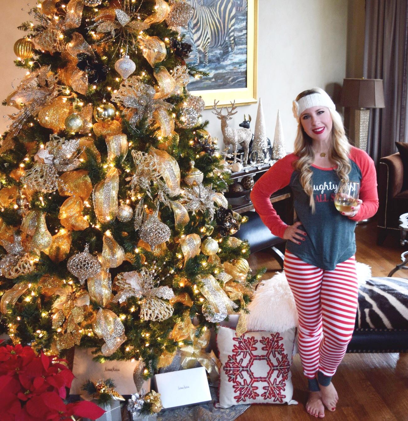 Christmas Pajamas | The Darling Petite Diva