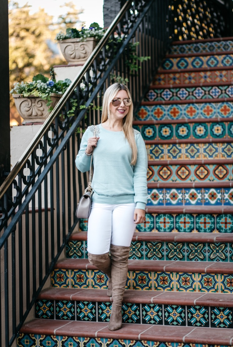 Embellished Sweater | Dallas Fashion | Blog