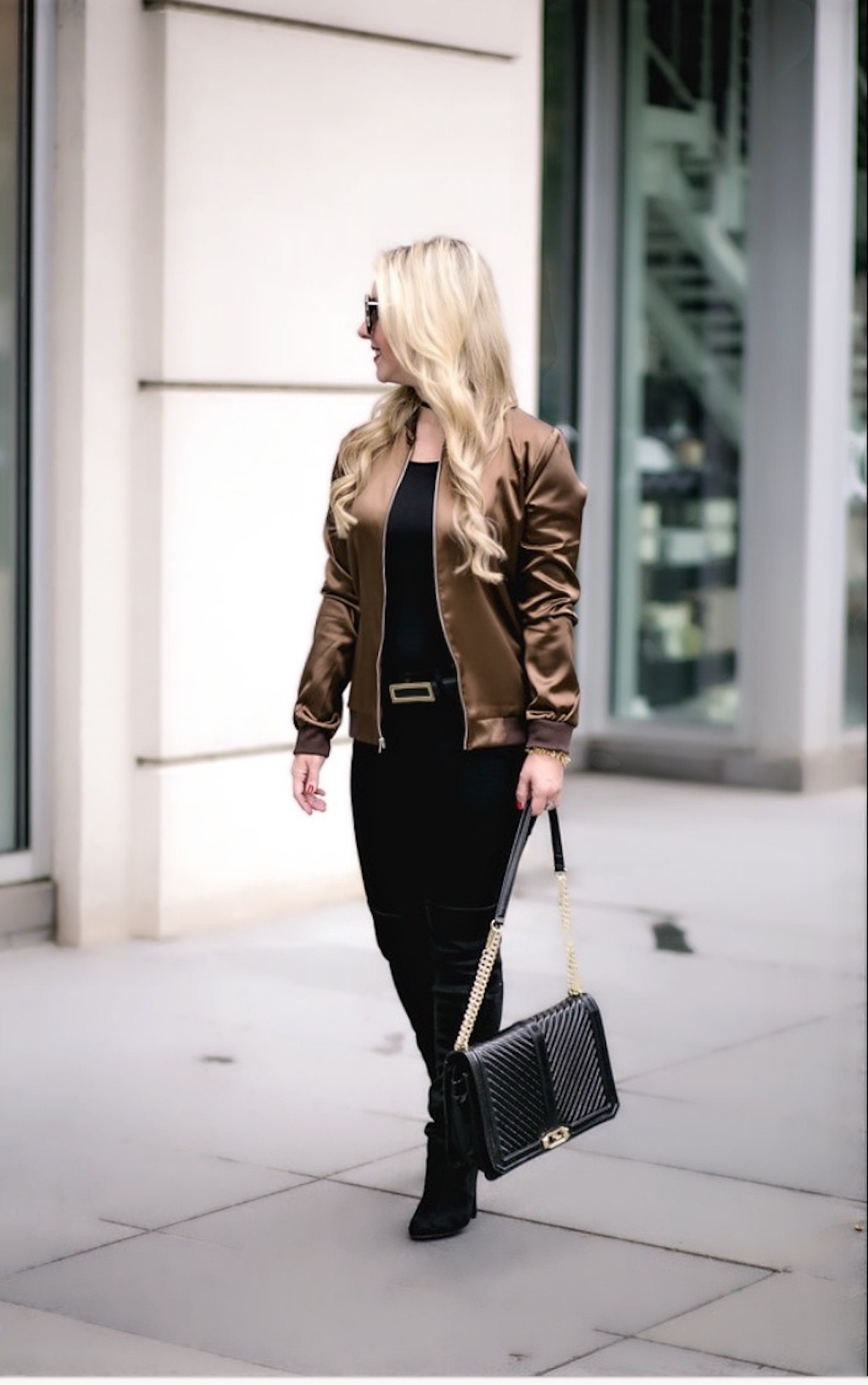 Dallas Fashion Blog | Bomber Jacket