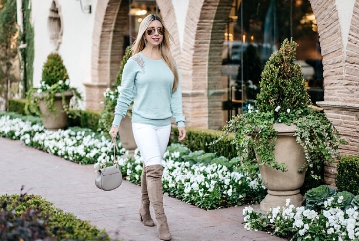 Nicole Kirk | Embellished Sweater | The Darling Petite Diva