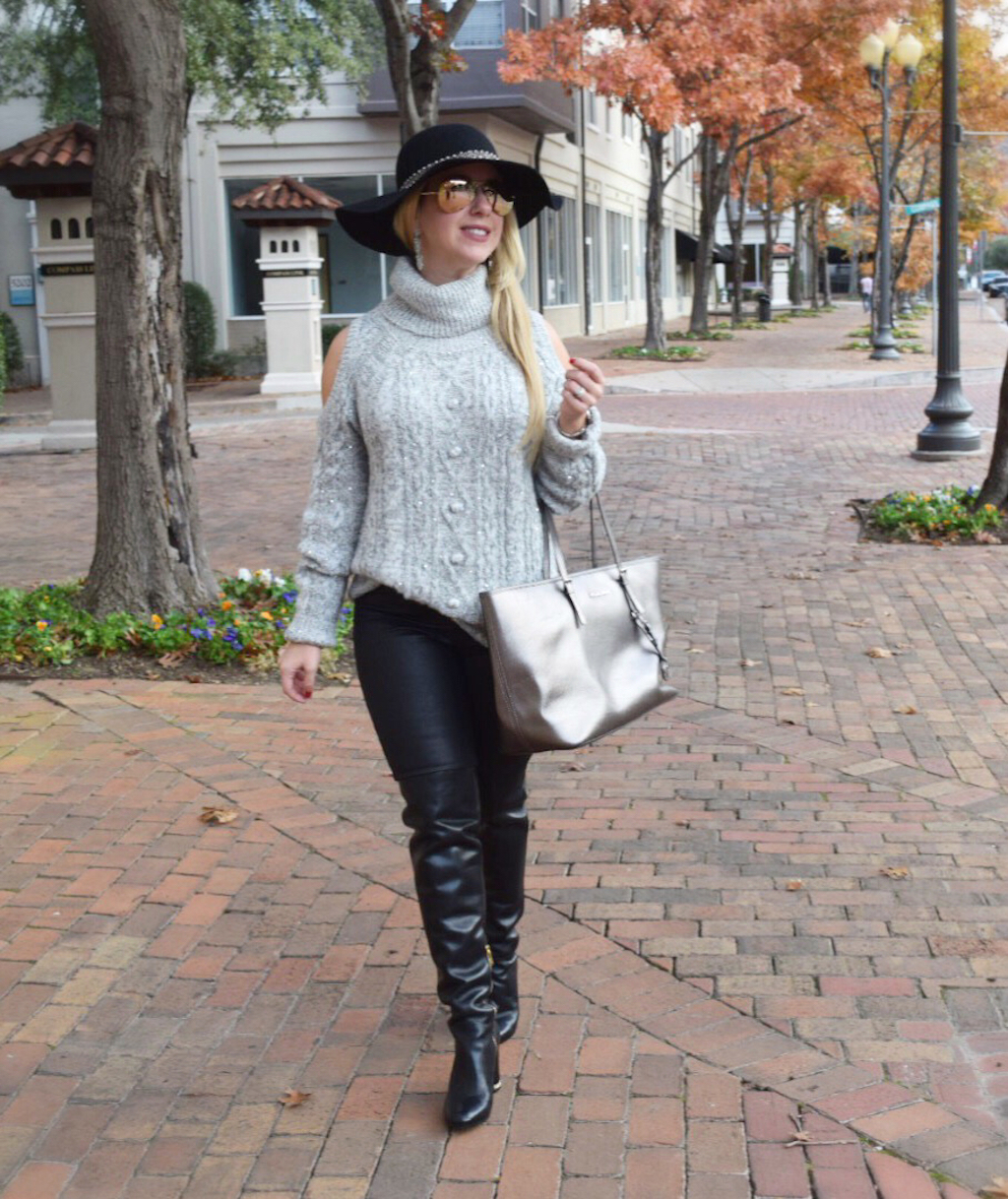 cozy and chic sweater