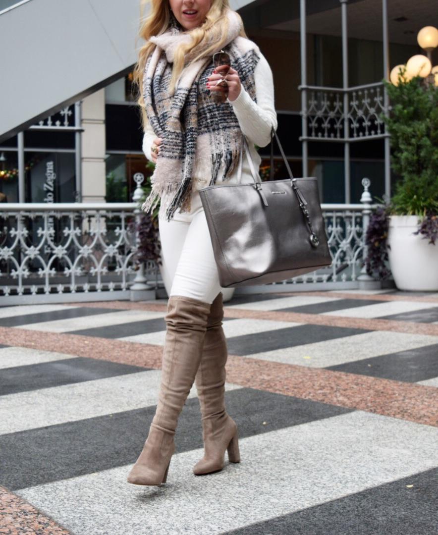 Winter White Look | Dallas Fashion
