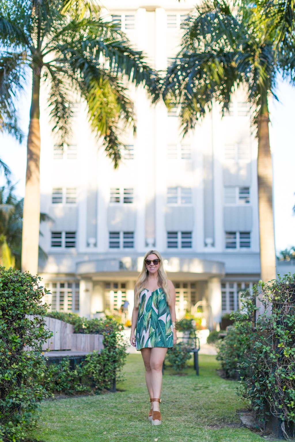 Palm Print & Palm Trees | The Darling Petite Diva| Nicole Kirk