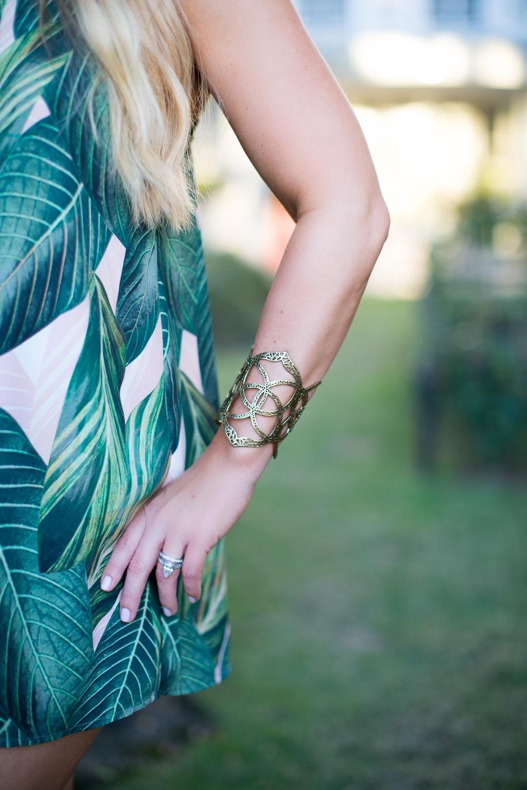 Palm Print & Palm Trees | The Darling Petite Diva| Nicole Kirk