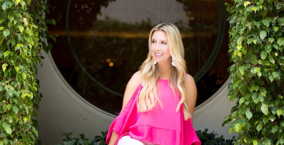 Hot Pink Cold Shoulder Top | The Darling Petite Diva | Nicole Kirk