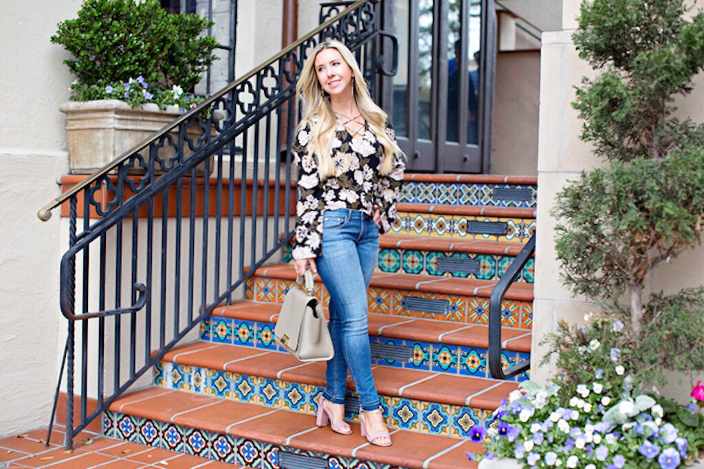 Must Have Spring Floral Top | The Darling Petite Diva