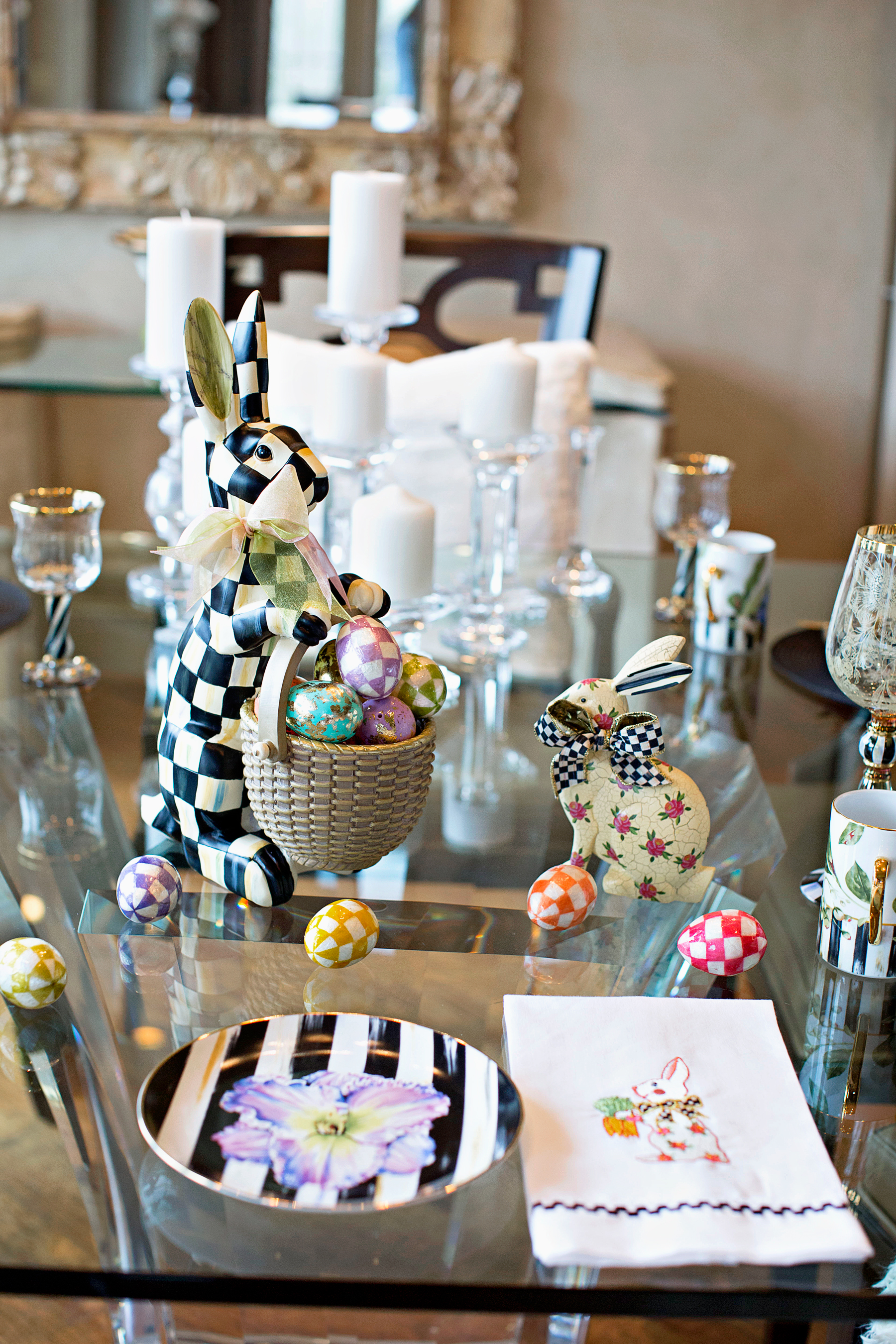 MacKenzie-Childs Easter Tradition | The Darling Petite Diva | Nicole Kirk