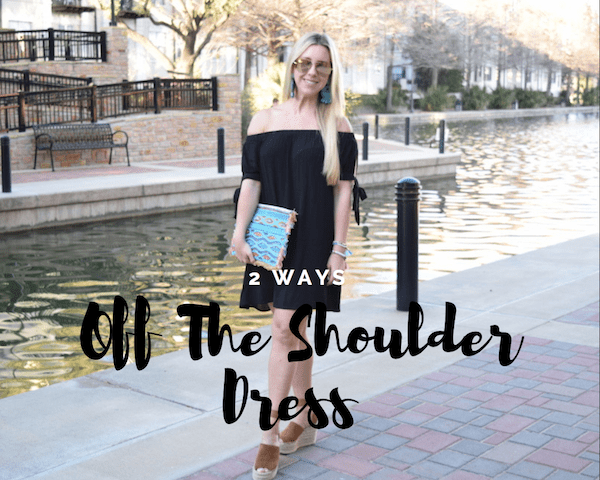 Off The Shoulder Dress - 2 Ways