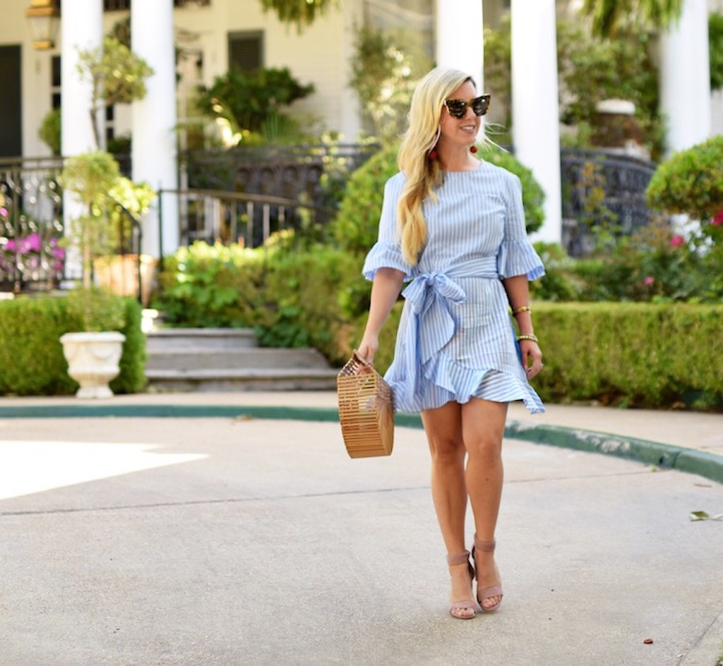 Spring Ruffles - A Southern Staple | The Darling Petite Diva | Nicole Kirk