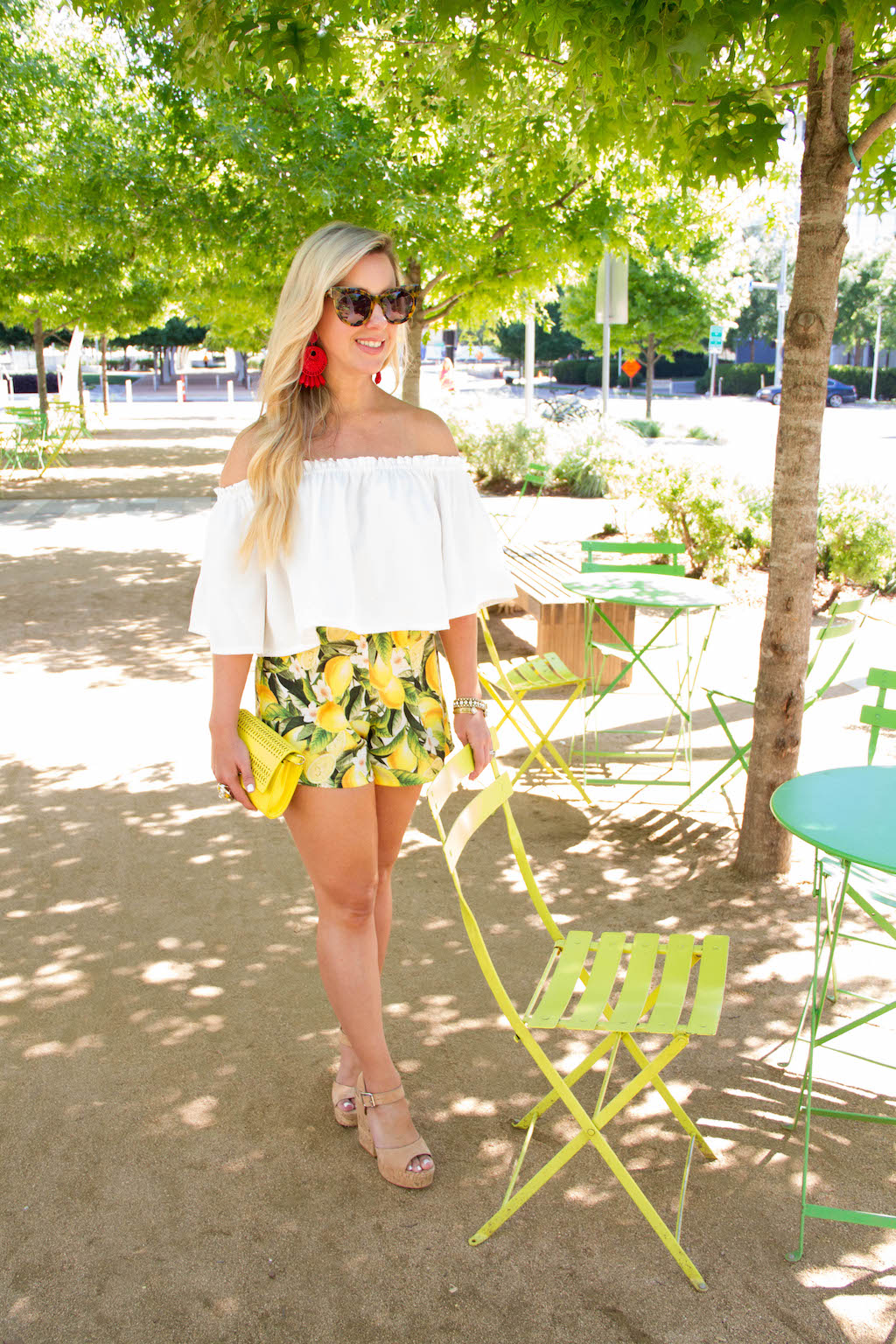 For The Love Of Lemons - Citrus Shorts | The Darling Petite Diva | Nicole Kirk