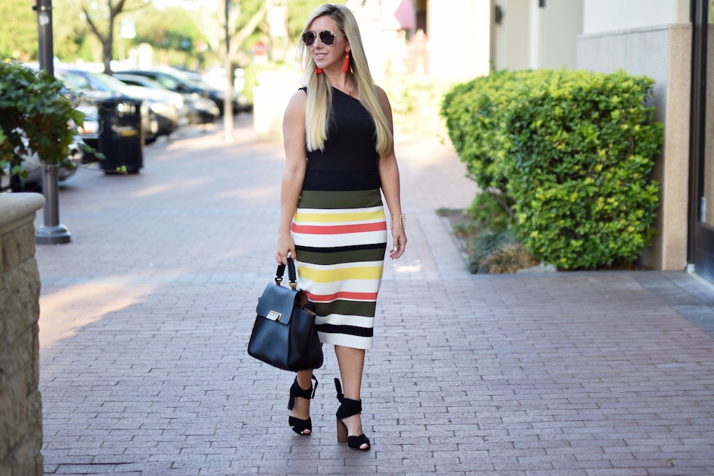 Seeing Stripes - 4 Striped Skirts For Spring | The Darling Petite Diva