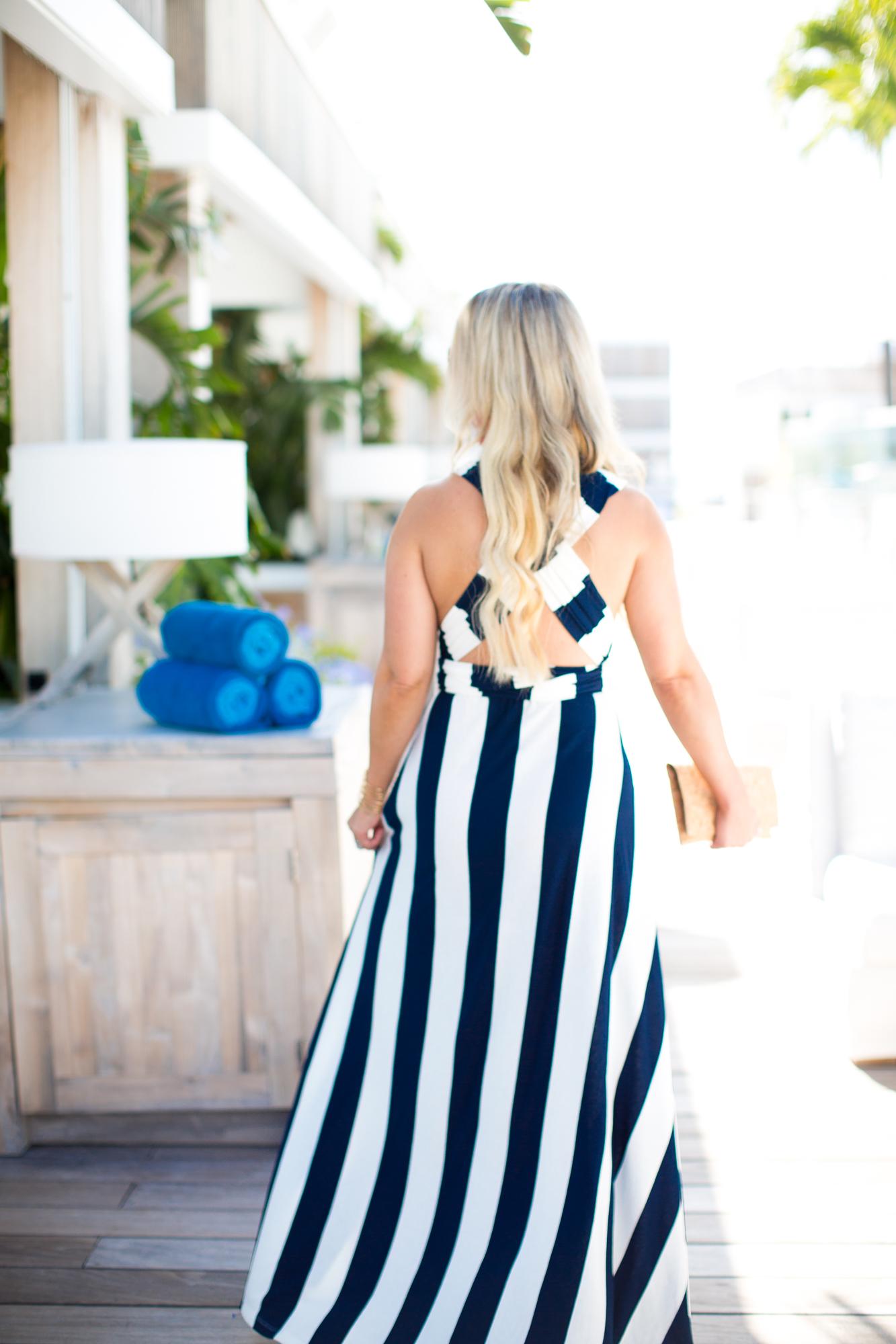Nautical Striped Dress | The Darling Petite Diva | Nicole Kirk | Dallas Blogger