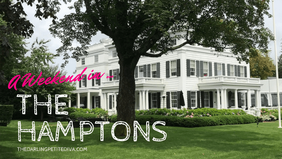 A Weekend In The Hamptons