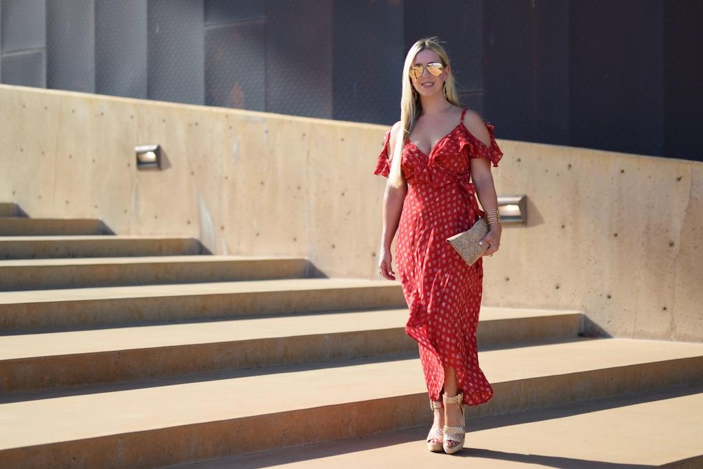 Feeling Grecian   Red Maxi Dress   The Darling Petite Diva