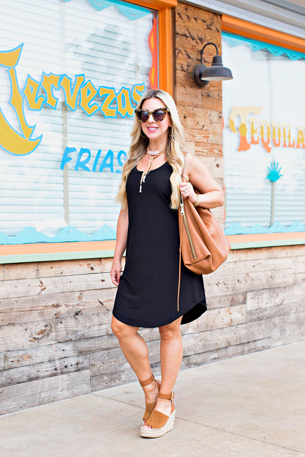 Tank Dress + Plus This Weekend's Plan | The Darling Petite Diva