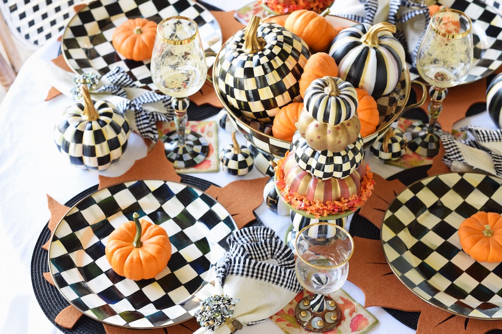 Fall Tablescape Ideas With MacKenzie-Childs | Fall Decor | The Darling Petite Diva | Nicole Kirk
